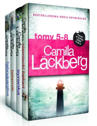 Camilla Lackberg. Tom 5-8. Niemiecki - okładka książki