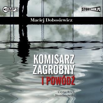 Komisarz Zagrobny i powódź (CD - pudełko audiobooku