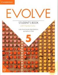 Evolve 5 Students Book with Practice - okładka podręcznika