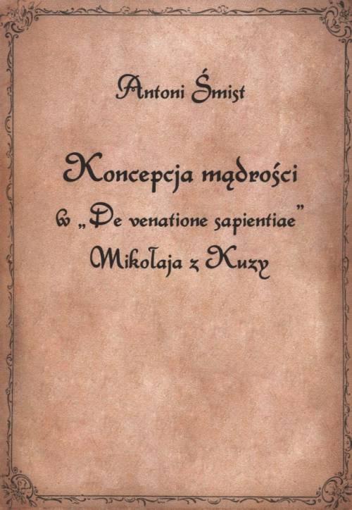 Koncepcja mądrości w De venatione - okładka książki