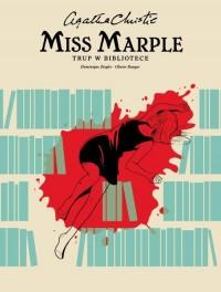 Miss Marple Trup w bibliotece - okładka książki