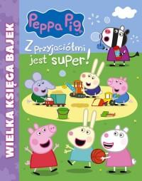 Peppa Pig. Wielka księga bajek. - okładka książki