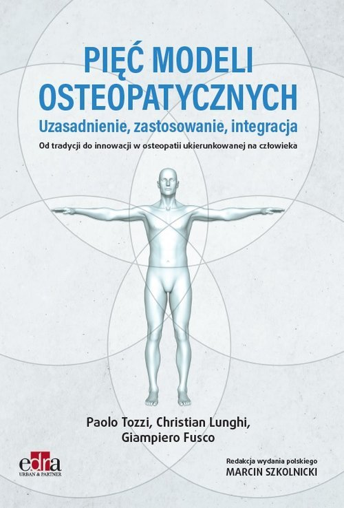 Pięć modeli osteopatycznych. Uzasadnienie, - okładka książki
