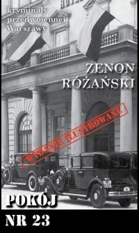 Pokój nr 23. Seria: Kryminały przedwojennej - okładka książki