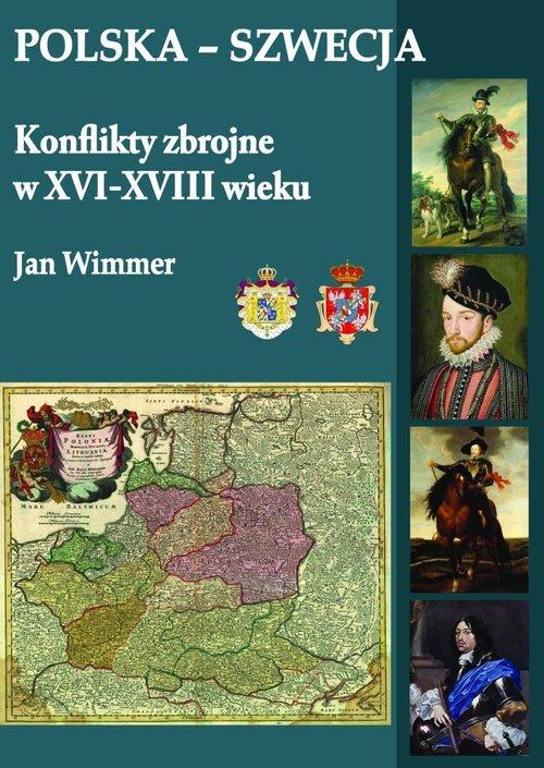 Polska-Szwecja Konflikty zbrojne - okładka książki