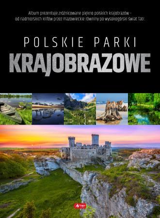 Polskie parki krajobrazowe - okładka książki