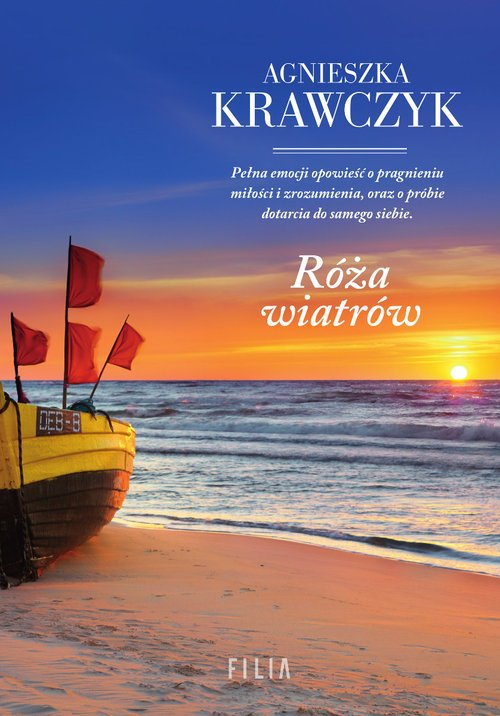 Róża wiatrów - okładka książki