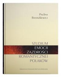 Studium emocji zazdrości romantycznej - okładka książki
