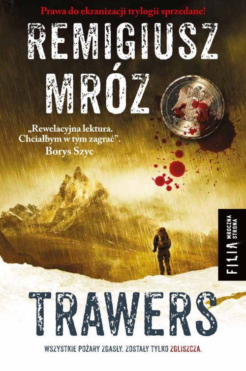Trawers - okładka książki