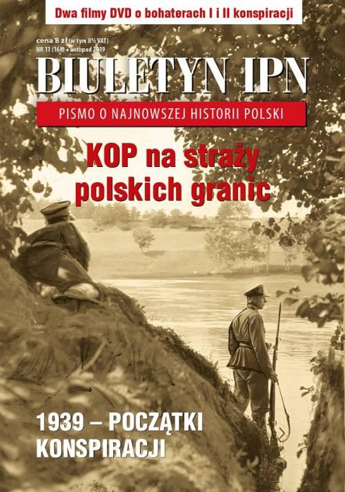 Biuletyn IPN nr  168 (11) / 2019 - okładka książki