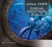 Dwadzieścia tysięcy mil podmorskiej - pudełko audiobooku