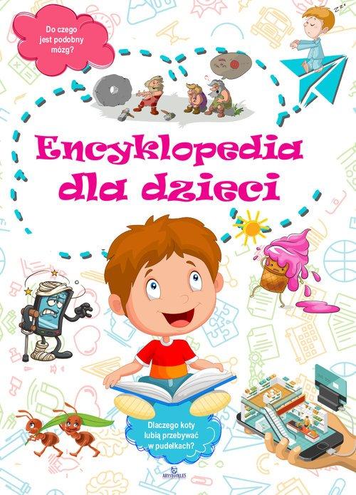 Encyklopedia dla dzieci - okładka książki