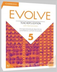 Evolve 5 Teachers Edition with - okładka podręcznika