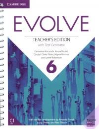Evolve 6 Teachers Edition with - okładka podręcznika