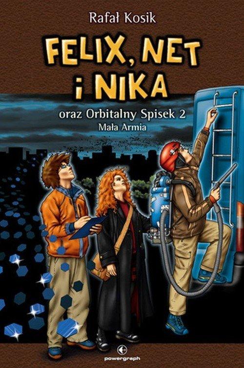 Felix, Net i Nika oraz Orbitalny - okładka książki