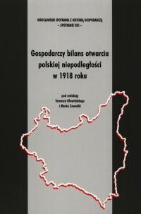 Gospodarczy bilans otwarcia polskiej - okładka książki