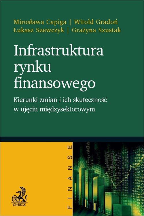 Infrastruktura rynku finansowego. - okładka książki