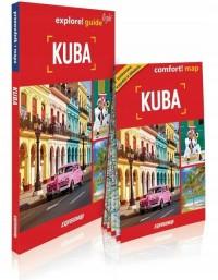 Kuba light przewodnik + mapa - okładka książki