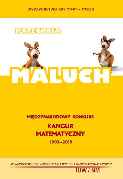 Matematyka z wesołym Kangurem MALUCH - okładka książki