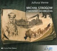 Michał Strogow - pudełko audiobooku