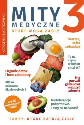 Mity medyczne które mogą zabić - okładka książki