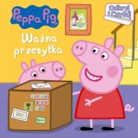 Peppa Pig. Odkryj i czytaj. Ważna - okładka książki