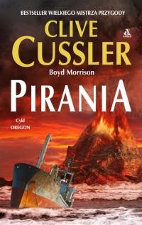 Pirania - okładka książki