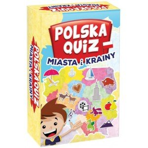 Polska Quiz. Miasta i krainy - zdjęcie zabawki, gry