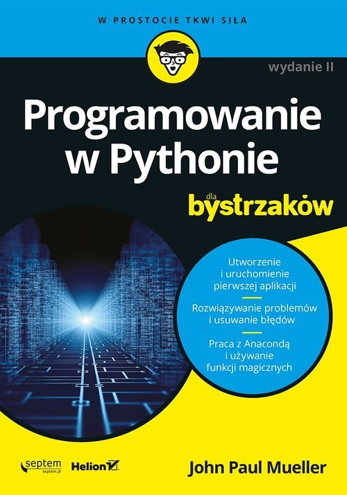 Programowanie w Pythonie dla bystrzaków. - okładka książki