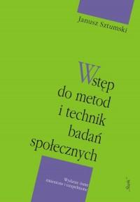Wstęp do metod i technik badań - okładka książki