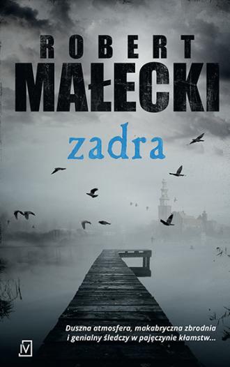 Zadra - okładka książki