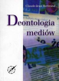 Deontologia mediów - okładka książki