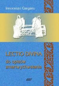 Lectio divina do opisów zmartwychwstania - okładka książki