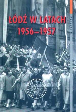 Łódź w latach 1956-1957. Seria: - okładka książki