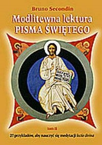 Modlitewna lektura Pisma Świętego. Tom 2 - okładka książki