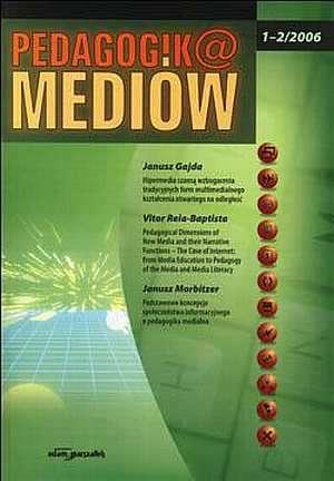 Pedagogika mediów 1-2 (2006). Półrocznik - okładka książki