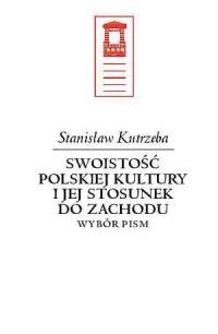 Swoistość polskiej kultury i jej - okładka książki