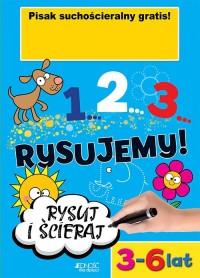 1...2...3... Rysujemy! - okładka podręcznika