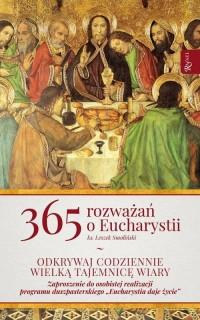 365 Rozważań o Eucharystii - okładka książki