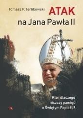 Atak na Jana Pawła II - okładka książki