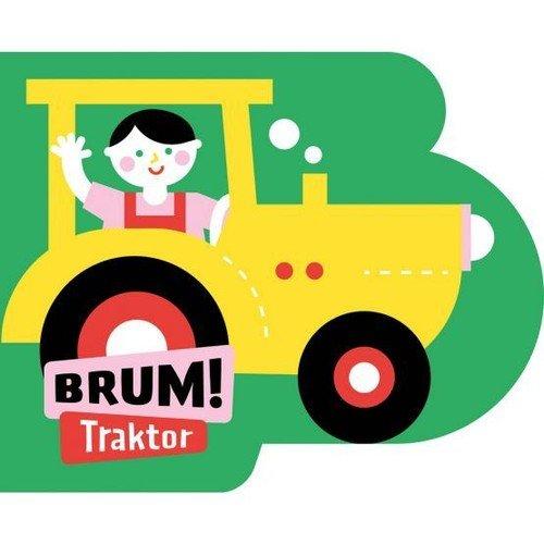 Brum! Traktor. Wykrojnik - okładka książki