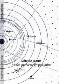 Chaos pierwszego poziomu - okładka książki