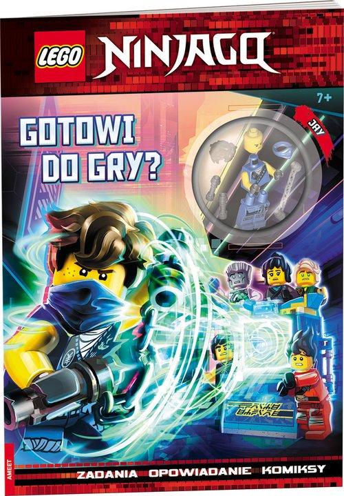 Lego Ninjago Gotowi do gry? - okładka książki