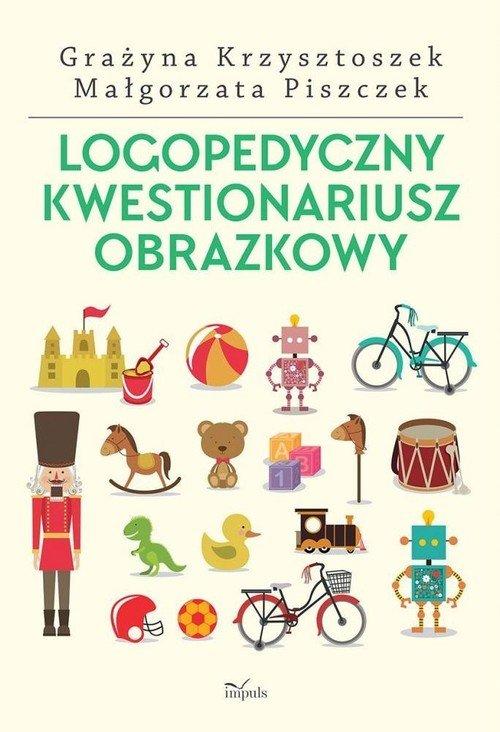 Logopedyczny kwestionariusz obrazkowy - okładka książki