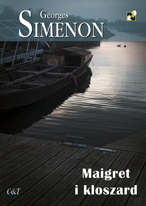 Maigret i kloszard - okładka książki