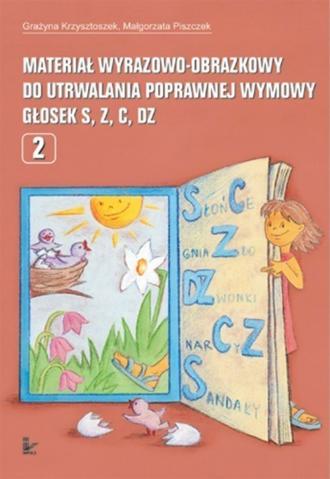 Materiał wyrazowo-obrazkowy dla - okładka książki