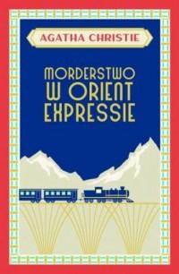 Morderstwo w Orient Expressie - okładka książki