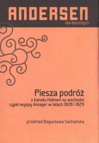 Piesza podróż z kanału Holmen na - okładka książki
