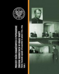 Procesy osób oskarżonych o popełnienie - okładka książki