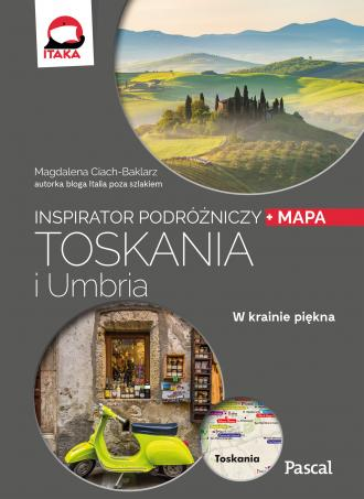 Toskania i Umbria. Inspirator Podróżniczy - okładka książki